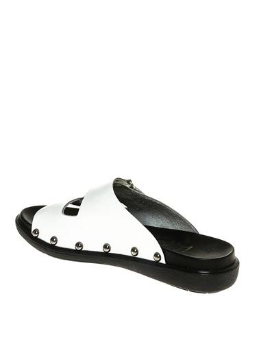 Black Pepper Sandalet Beyaz